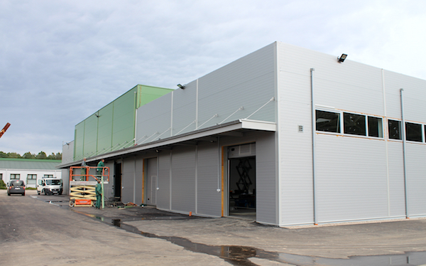 Insgesamt stehen vier Tore für die Anlieferung frischer Pfifferlinge zur Verfügung.